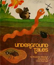 Cover of: Underground tales | Alexander Mehdevi
