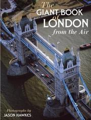 Cover of: The giant book of London from the air