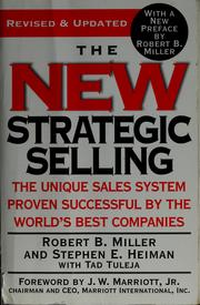 Cover of: The new strategic selling