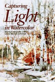 Cover of: Capturing light in watercolor