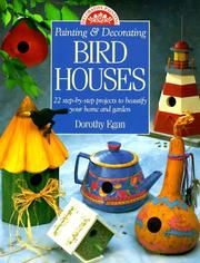 Cover of: Painting & decorating birdhouses
