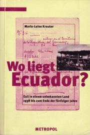 Cover of: Wo liegt Ecuador?