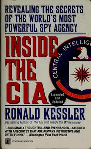 Cover of: Inside the CIA