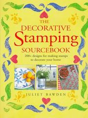 Cover of: The Decorative Stamping Source Book