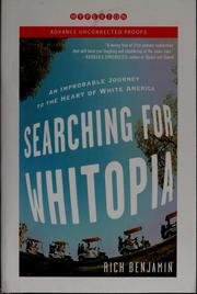 Cover of: Searching for Whitopia