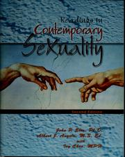 Cover of: Readings in contemporary sexuality | John P. Elia