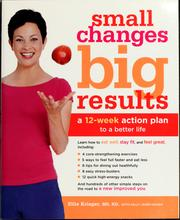 Cover of: Small changes, big results