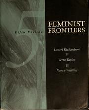 Cover of: Feminist frontiers 5