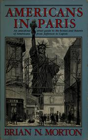 Cover of: Americans in Paris | Brian N. Morton