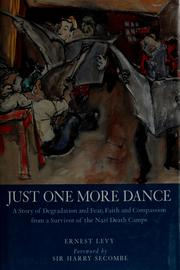 Cover of: Just one more dance