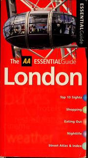 Cover of: Essential London | Murphy, Paul