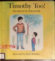 Cover of: Timothy too!