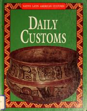 Cover of: Daily customs