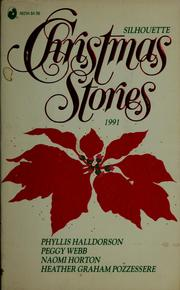 Cover of: Silhouette Christmas stories, 1991