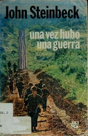 Cover of: Once There Was a War