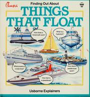Cover of: Things that float | Annabel Thomas