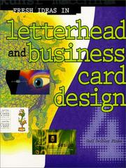 Cover of: Fresh Ideas in Letterhead and Business Card Design 4 (Fresh Ideas)