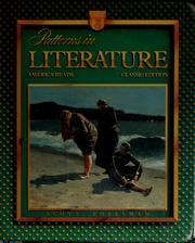 Cover of: Patterns in literature