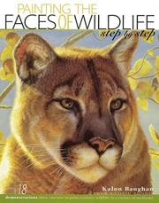 Painting the faces of wildlife step by step