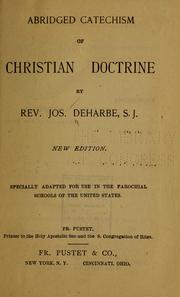 Cover of: Abridged catechism of Christian doctrine