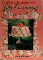 Cover of: Book of cake decorating