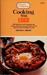 Cover of: Cooking with eggs