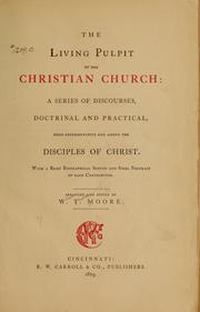 Cover of: The living pulpit of the Christian Church