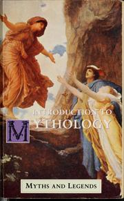 Cover of: Introduction to mythology