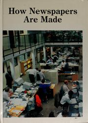 Cover of: How newspapers are made