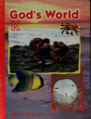 God's world K by Judy H. Moore