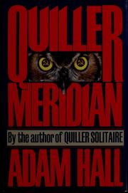 Cover of: Quiller Meridian