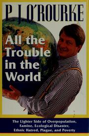 Cover of: All the trouble in the world