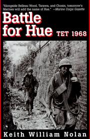 Cover of: Battle for Hue | Keith Nolan