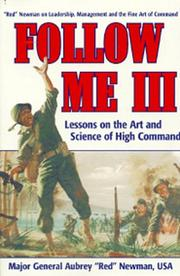 Cover of: Follow Me III | Aubrey S. Newman