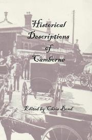 Cover of: Historical Descriptions of Camborne