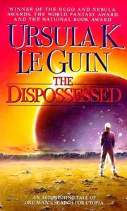 Cover of: The Dispossessed | Ursula K. Le Guin