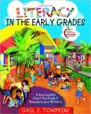 Cover of: Literacy in the Early Grades