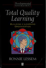 Cover of: Total quality learning