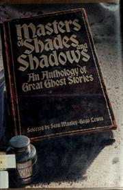 Cover of: Masters of shades and shadows