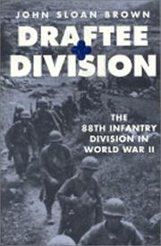 Cover of: Draftee Division | John Sloan Brown