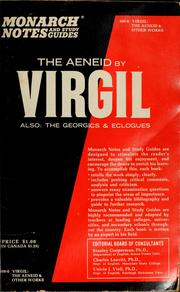 Cover of: Virgil