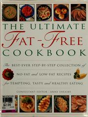 Cover of: The ultimate fat-free cookbook