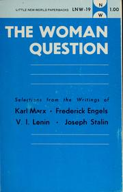 Cover of: The Woman question