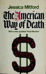 Cover of: The American way of death