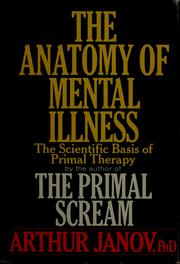 Cover of: The anatomy of mental illness
