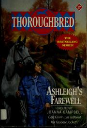 Cover of: Ashleigh's farewell | Karen Bentley