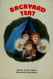Cover of: Backyard tent
