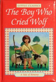 Cover of: The boy who cried wolf