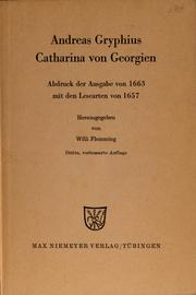 Cover of: Catharina von Georgien