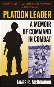 Cover of: Platoon Leader
